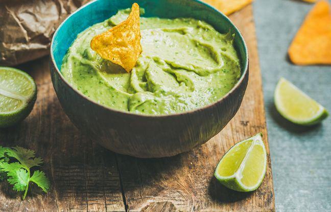 Guacamole, touche de Wasabi