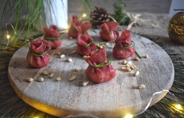 Bouchées de bresaola