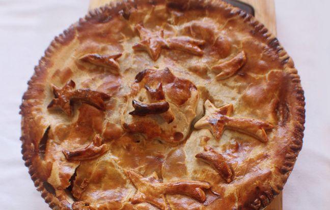 Tourte lorraine : recette de tourte à la viande marinée