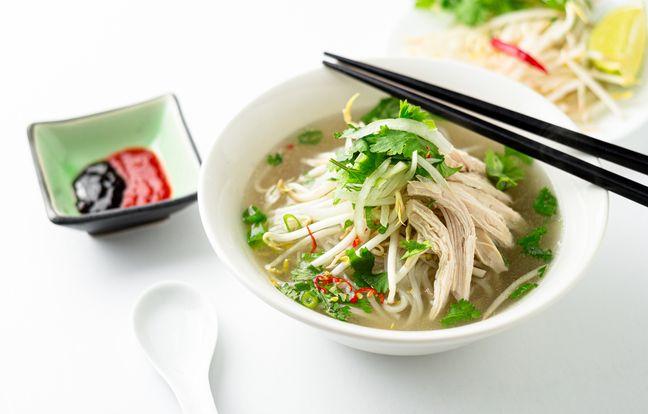 Recette de la soupe chinoise au poulet