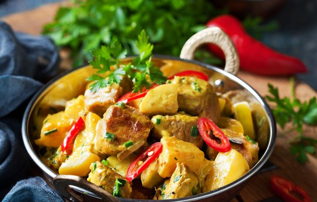 Wok de poulet à l'ananas