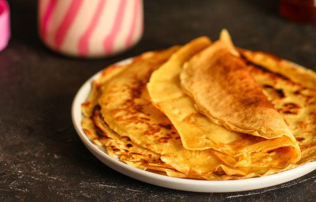Crêpes à la farine de patate douce sans gluten