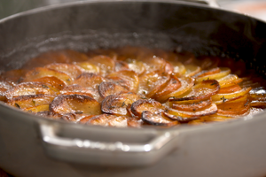 Cocotte d'agneau aux pommes de terre par Laurent Mariotte