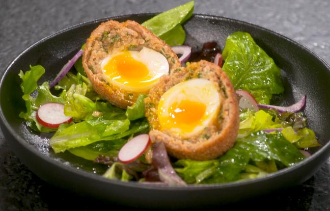 Scotch eggs par Laurent Mariotte