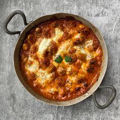 Gnocchi gratinés sauce spéciale