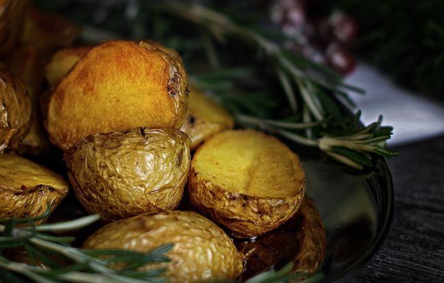 Pommes de terre confites à la graisse de canard