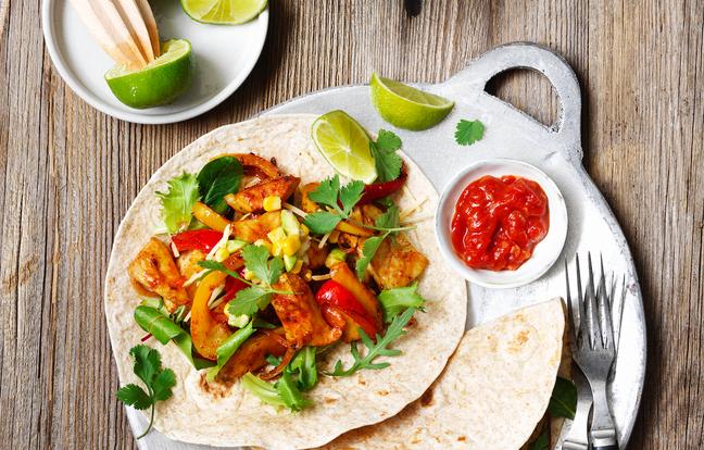 Fajitas mexicaines végétariennes