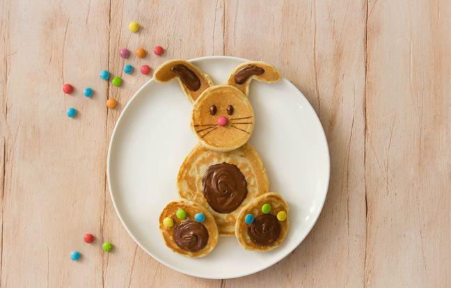 Pancakes lapin