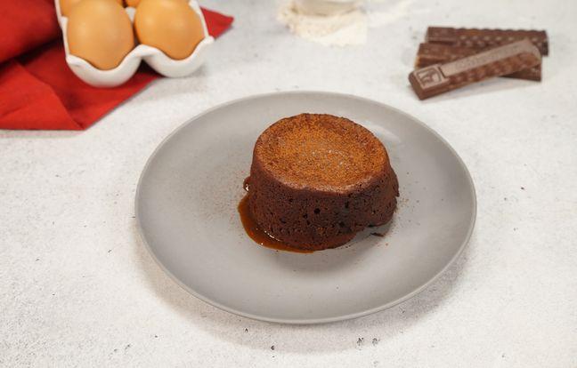 Lava Cake choco caramel