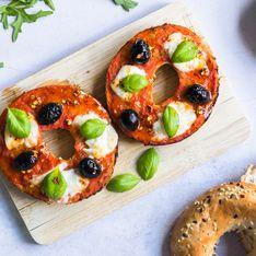 Bagels Pizza