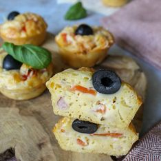 Muffins pizzas faciles