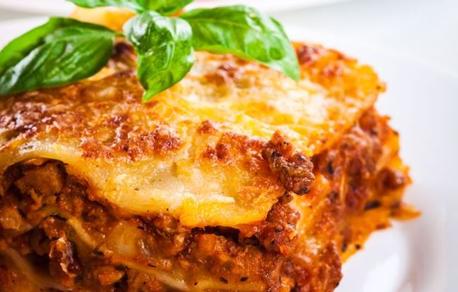 Lasaña italiana
