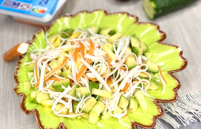 Salade hawaïenne au Surimi