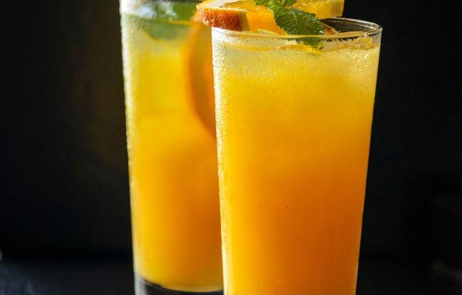 Cocktail à l'ouzo (Grèce)
