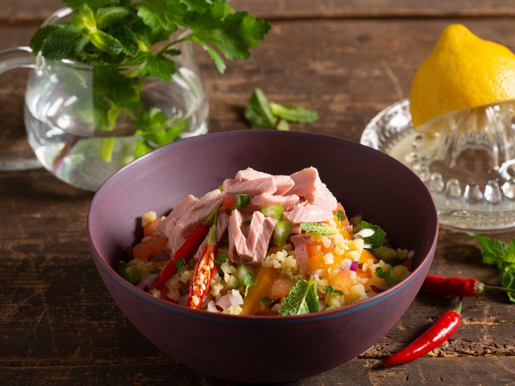 Salade de boulgour et de thon