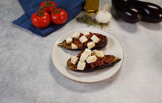 Les aubergines farcies à la Feta de @Tsiaraiwanna