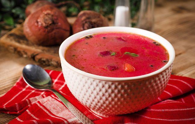 Soupe froide tomate-pastèque