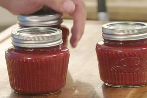Confiture de fraises à la vanille par Laurent Mariotte
