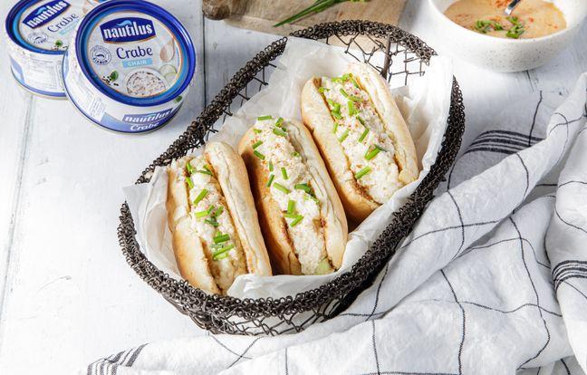 Crab-rolls