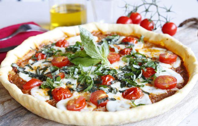 Tarte tomate mozzarella