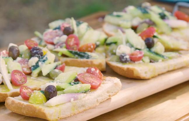 Salade greco-provençale par Laurent Mariotte