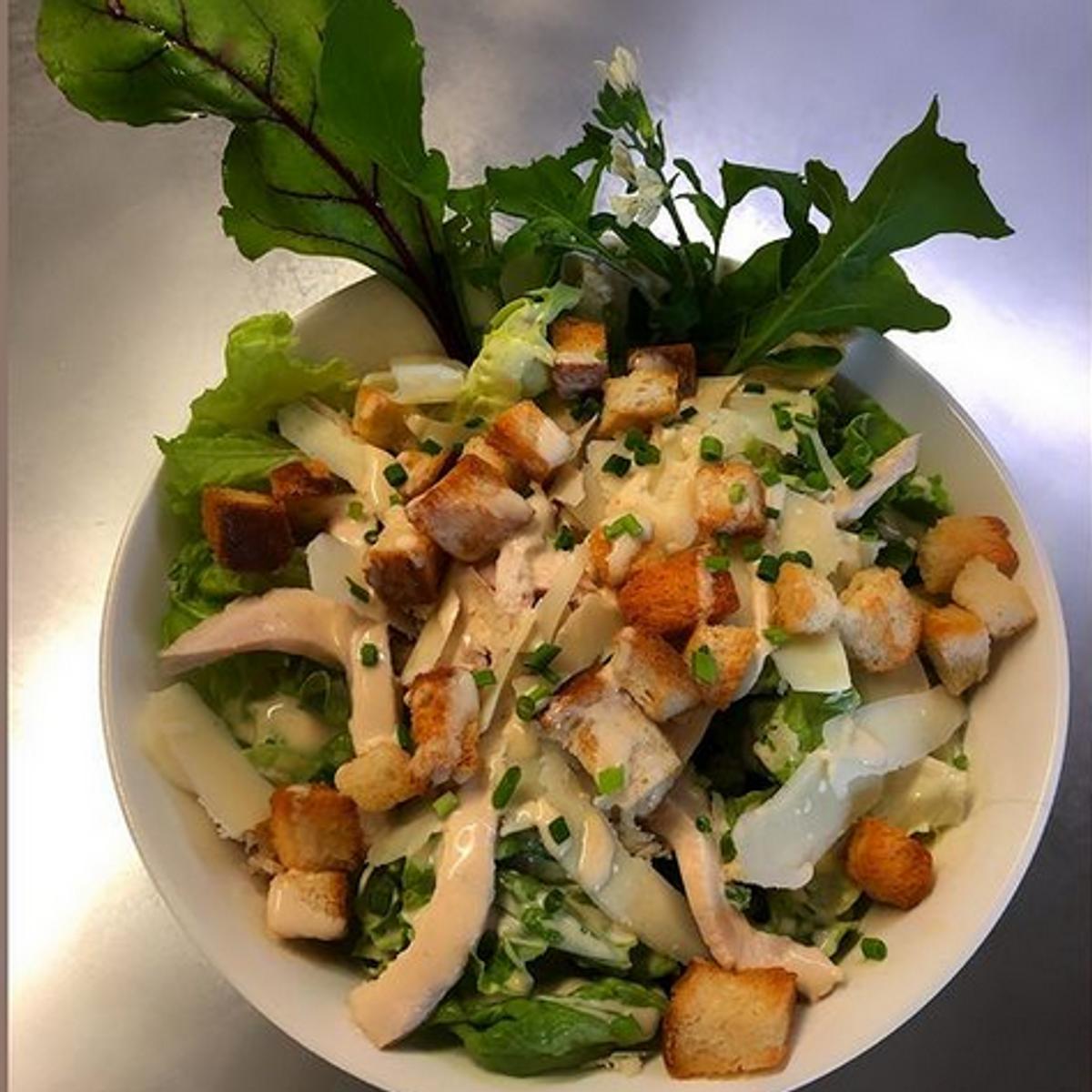 Salade césar des U.S.A