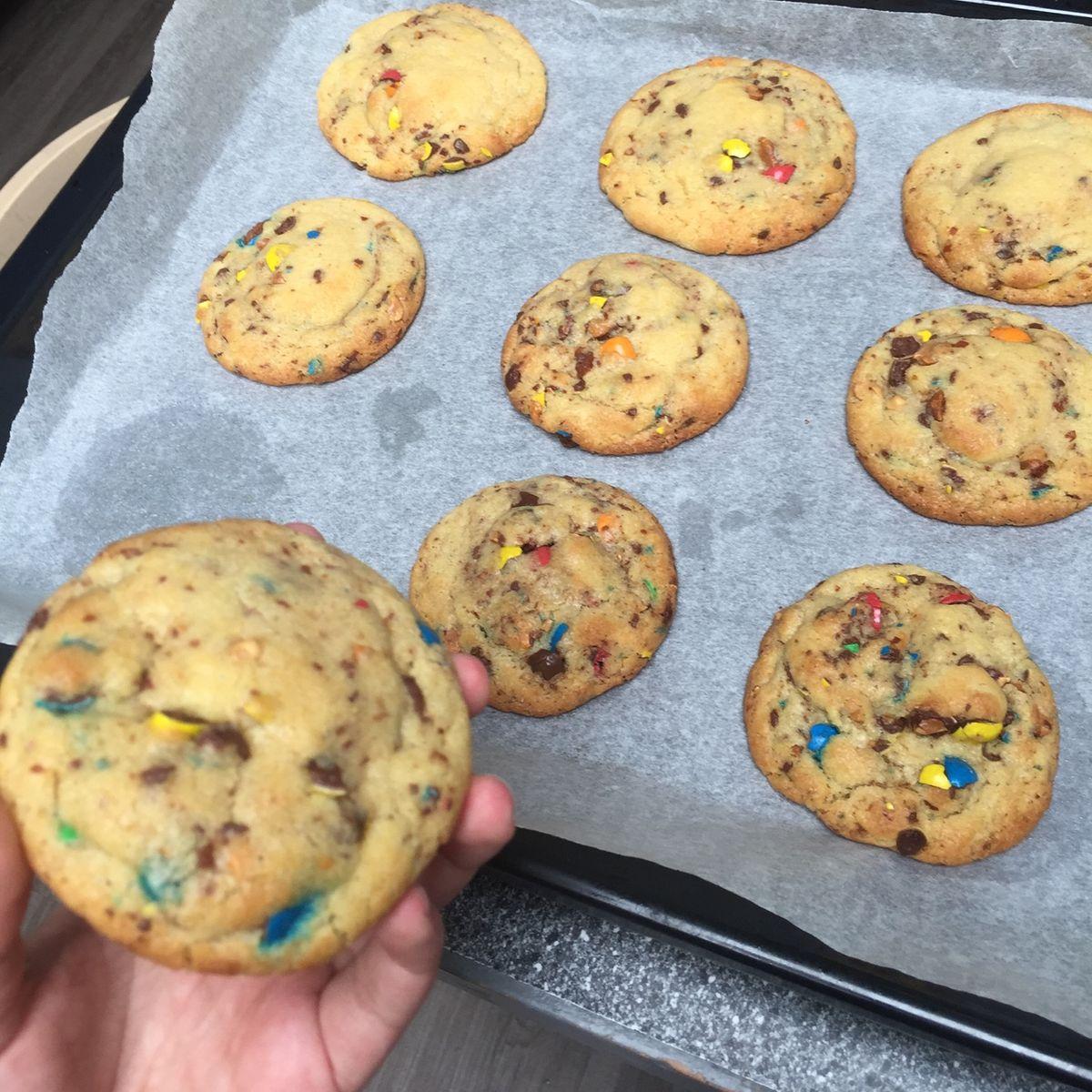 Cookies aux M&M's de Maeva