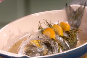 Dorade au citron confit par Laurent Mariotte
