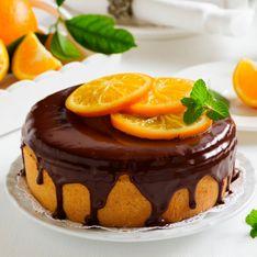 Torta alle arance e cioccolato fondente