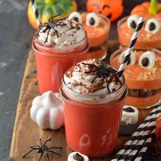 Sang frais d'Halloween (milk-shake spécial enfant)