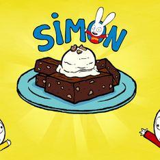Le Super Brownie aux noisettes de Simon Super Lapin