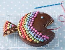 Zebrakuchen-Regenbogenfisch