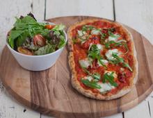 Tomato and Buffalo Mozarella Skinny Rustica