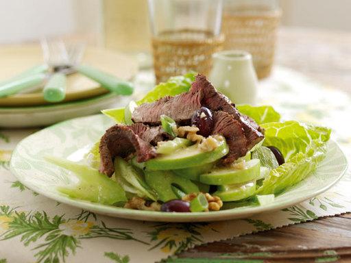 BBQ Welsh Beef and Waldorf Salad