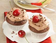 Cupcakes mit Schoko
