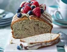 Yoghurt and Poppyseed Loaf Cake