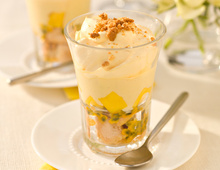 Mango Trifle Pots