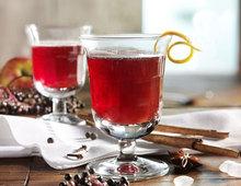 Alkoholfreier winterlicher Apfel - Holunder - Punsch