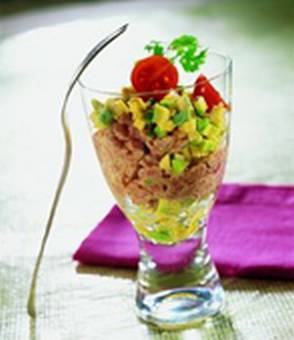 Veal and avocado tartare