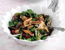 Light berry salad