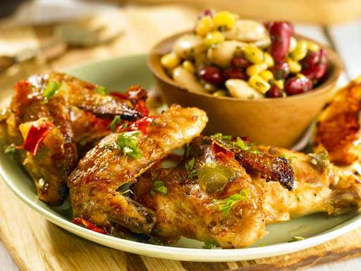 Lime and Chilli Chicken Wings