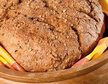 Kokosmilch-Nuss-Brot