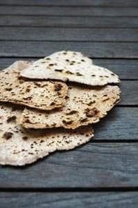 Chapati (Indisches Fladenbrot)