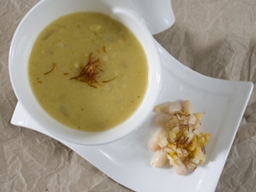 Smoked Haddock and White Bean Soup