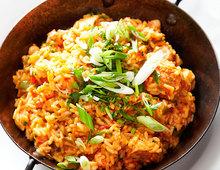 Chicken Crawfish and Chorizo Jambalaya