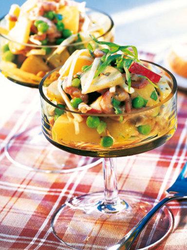 Kartoffel-Krabben-Salat