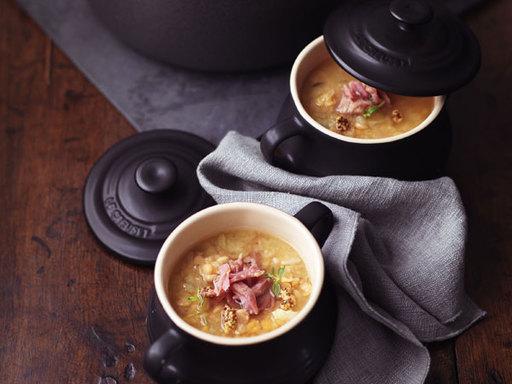 Yellow Split Pea Soup with Ham