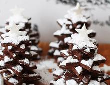 Zimt-Schokoladenbäume
