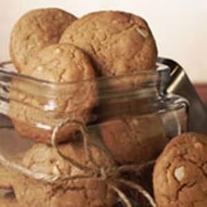 Chewy macadamia nut cookies