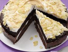 Kaffee-Baiser-Torte